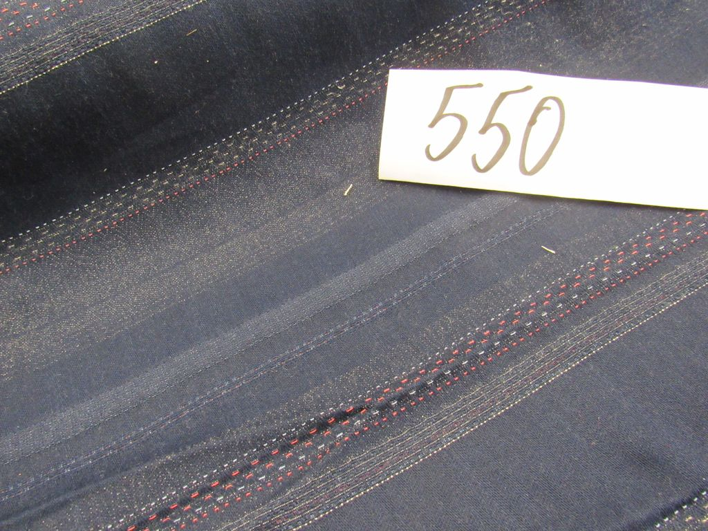 dark navy  blue stripe fabric selling by the yard