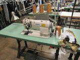 Juki Model LH-3168-LHQBG02166 dual stitch industrial sewing machine 110V, Single Phase, light and th
