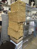 designer baskets assorted sizes