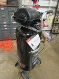 Husky 175 psi portable 20 gallon 110v air compressor