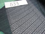 Navy Stripe Lace  selling by the yard