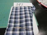 blue and white flannel fabric selling by the yard