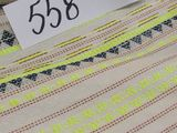 neon green fabric selling by the linear yard