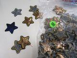 sequin 5-point  stars 1.5