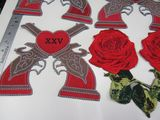guns and roses patches