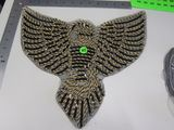 gold eagle large applique approx 12 inch