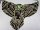 gold eagle small applique approx 8 inch