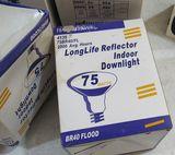 75 watt long life reflector downlight bulbs BR40Flood