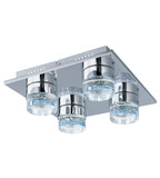 ET2 Contemporary Lighting #E22772-91PC 4-LED 6W bulbs included