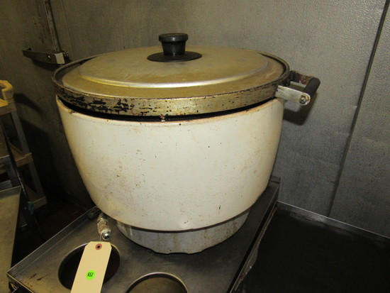 rice cooker jetted for natural gas