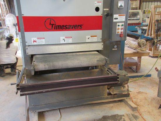 "Timesaver wide sanding machine model 137 1HD60 36"" x 60"" belt"