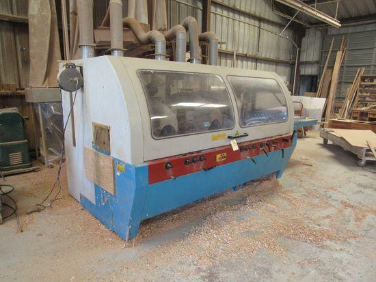 Silver SF6023 moulder machine (feed through) 10hp 3 ph