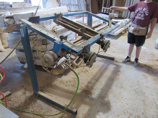 JLT clamping machine for doors model 79K-6-DC