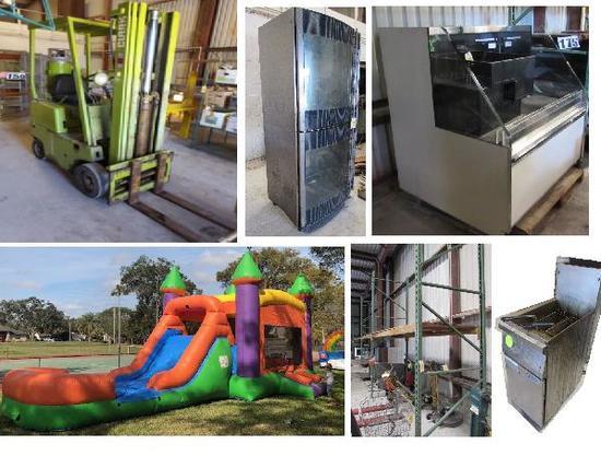 Liquidation of HW Restaurant & Market Equipment