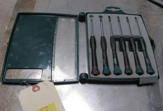 6 piece precision screw driver set