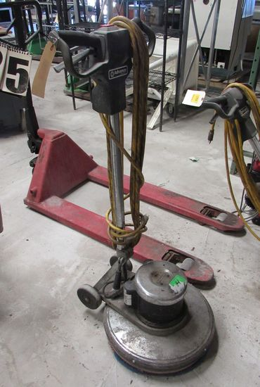 "Advance 20"" diameter  floor scrubber"