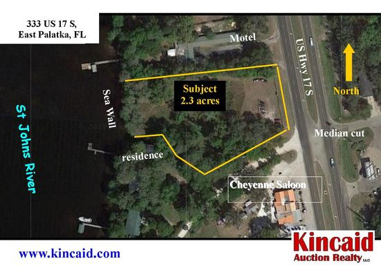 2.3 ac commercial track on St Johns River