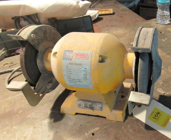 HDC 1/2hp bench grinder (tests good)