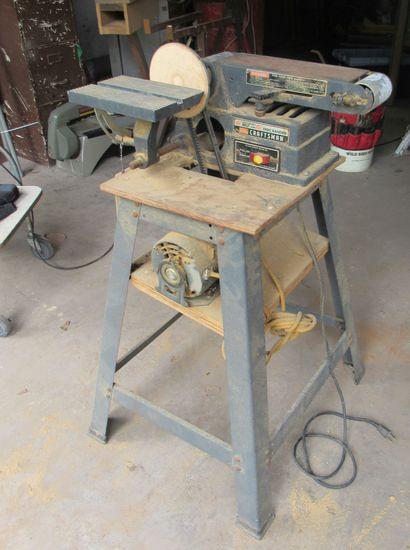 """Craftsman 10"""" Radial Arm saw on castors  (tests good)"""