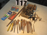 box of mixed masonry and metal drill bits mini to 1/2