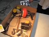 mixed tools shop accessories supplies