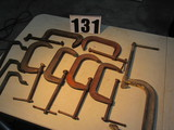 C clamps mixed sizes