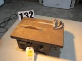 Sears & Roebuck mini table saw (no motor table top dimensions 14.75 x 10.25