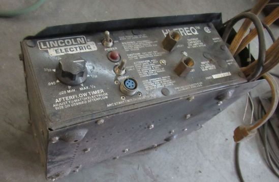 Lincoln Hi Frequency generator for Tig Welding Applications