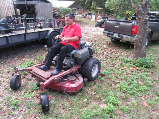 "Toro Zero Turn mower 52"" deck"