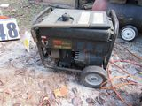 Portable Dayton 1500w generator set
