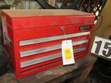 Mastergrip tool box with tools