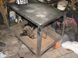 heavy duty work bench warehouse cart combo