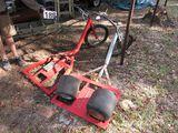 homemade trike bike platform frame