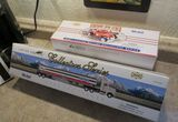 Mobil Oil collector toy trucks in boxes