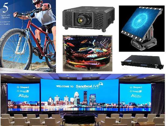 New and Refurbished Audio Visual Equipment