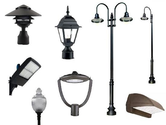 LED Outdoor and Street Lighting  Fixtures