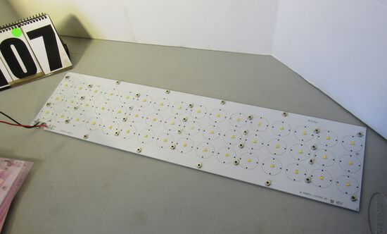 "LED light panel boards with 48 LED lights 6""x18"""