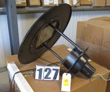 Beacon pole mont cast aluminum LED street light with 27