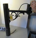 Beacon Scroll cast aluminum LED light post arm