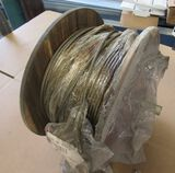 """spool of ¼ wire rope 302 stainless steel approx 315ft 1/4"""" 7x19 302ss"""