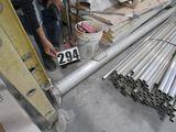 """5"""" aluminum pole with base 13 ft long"""