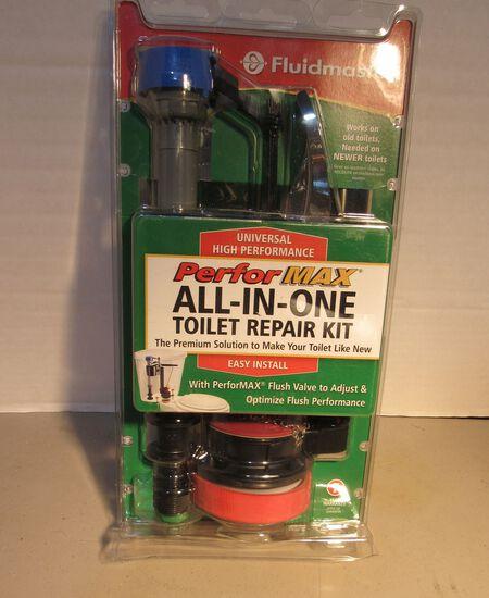Fluidmaster Performax toilet tank repair kit in sealed origional packaging