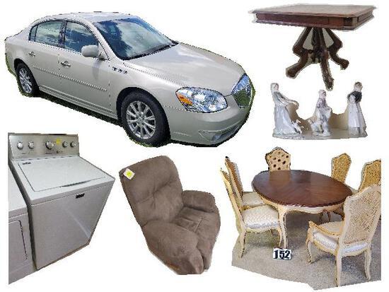 Estate 2011 Buick, & Home Furnishings
