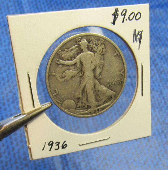 1936 Walking Liberty 1/2 dollar