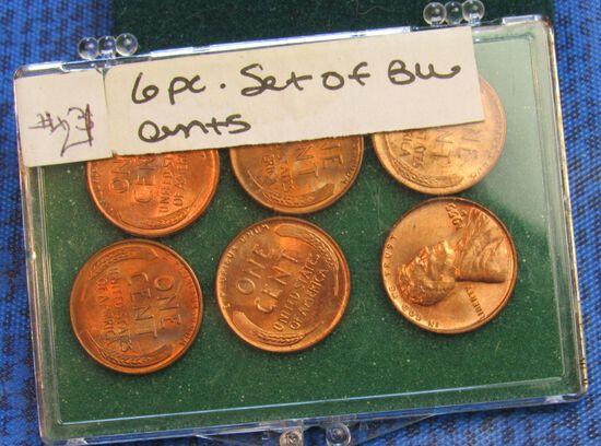 pack of 6 bu pennies