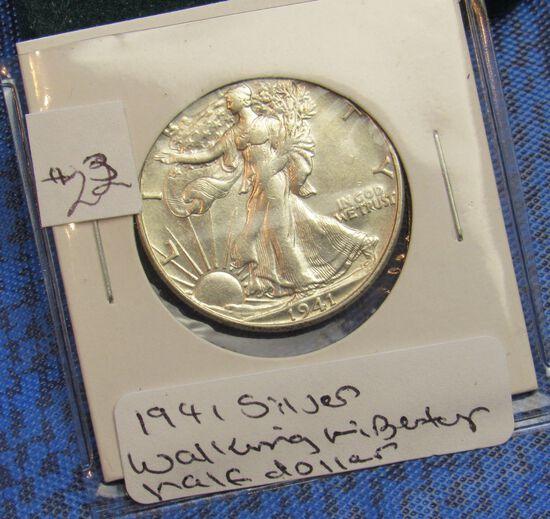 1971 silver Walking Liberty 1/2 dollar