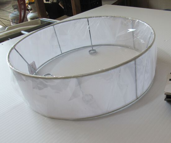 "lamp shades white model wso-2/d17-3/4   18"" diameter"