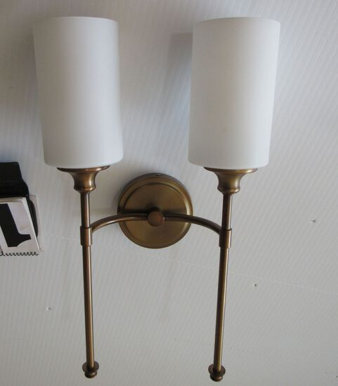 Group of 6 Mixed LED ceiling lights NOS  oiut of boxes
