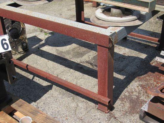 """steel welding table frame 54"""" x 54""""  (no top)"""