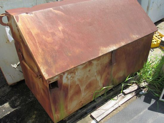 """steel gang box for tools 60"""" w x 30"""" x 49"""" h"""